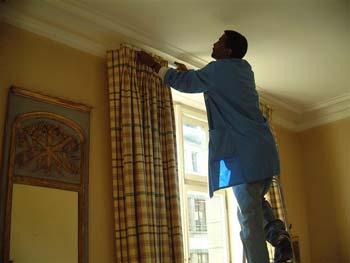 Nettoyage de rideaux Tapisxpert Genève